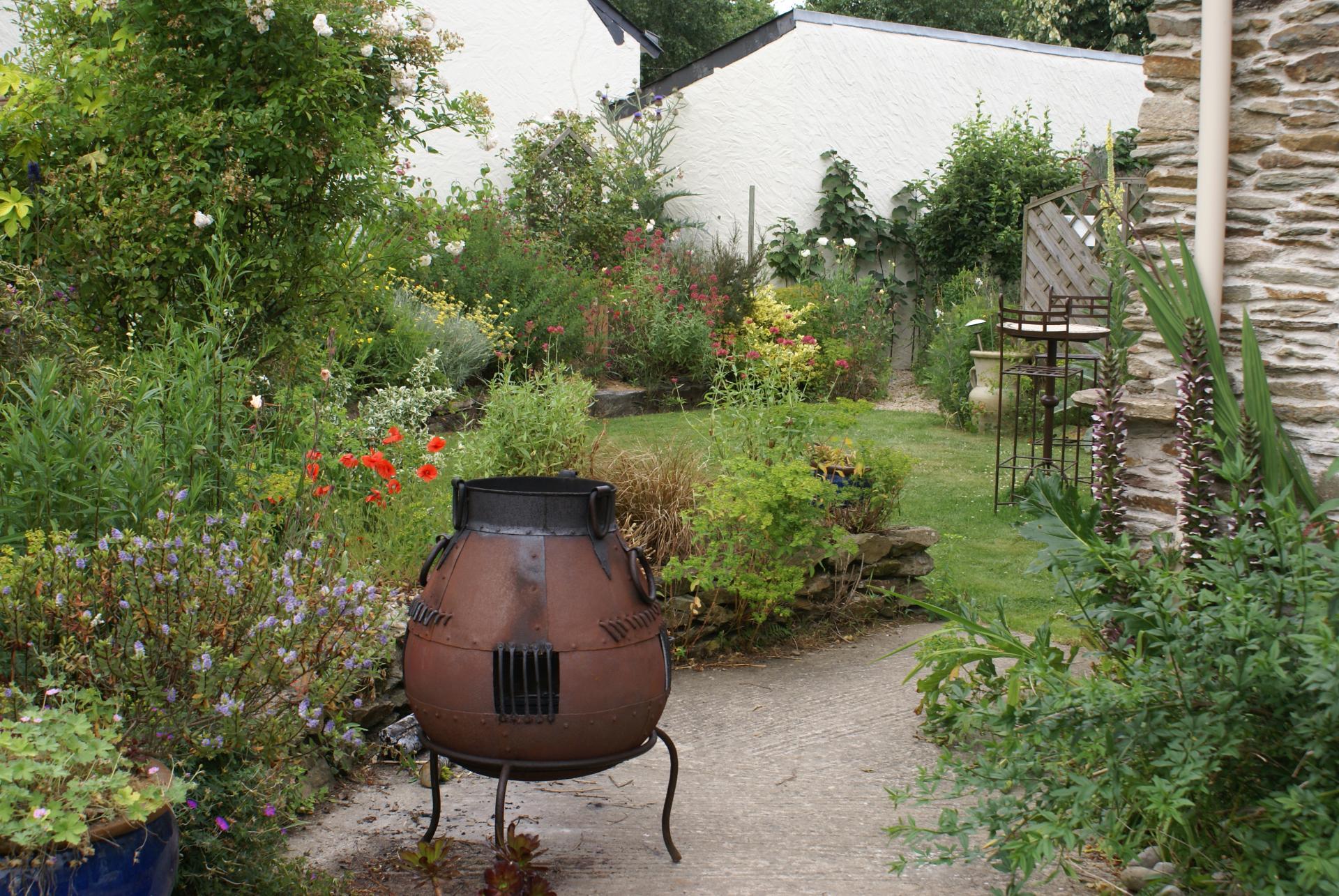 un barbecue fait par un écossais