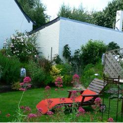 espace jardin privatif avec relax
