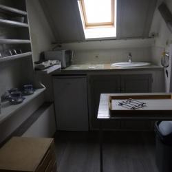 une kitchenette équipée