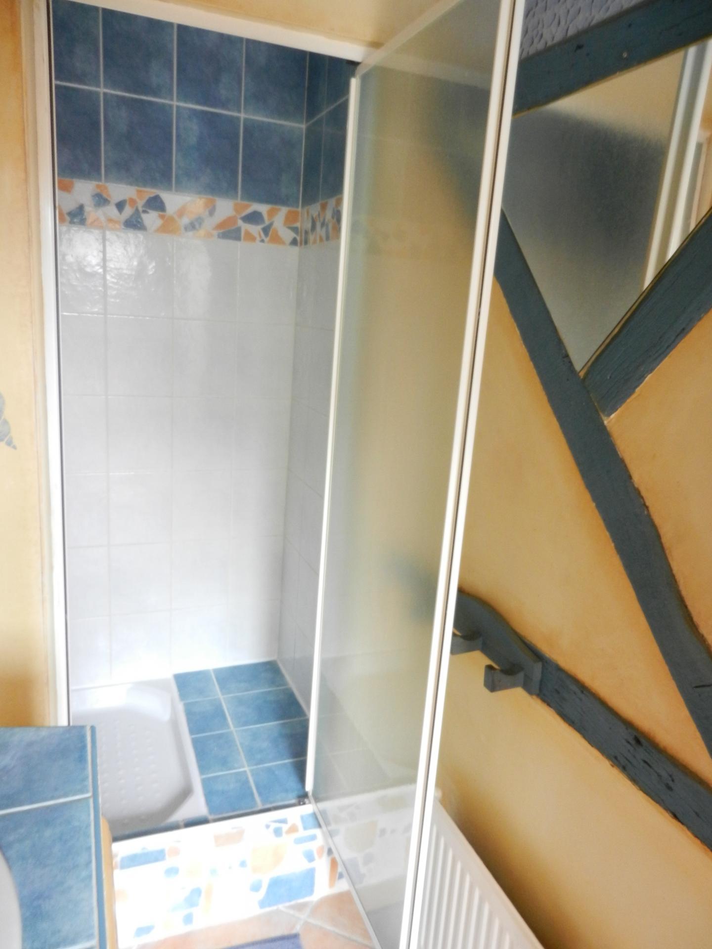 l'espace douche