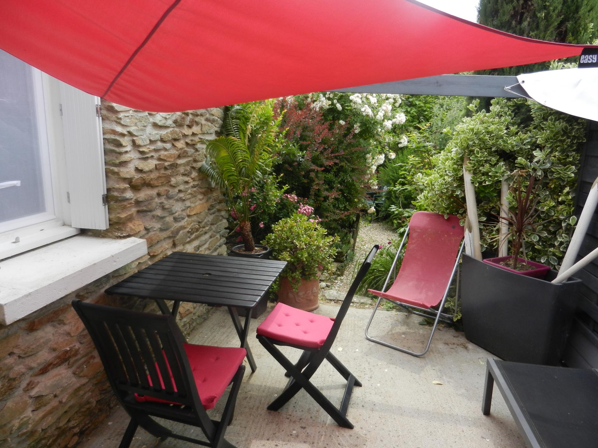 la terrasse privative